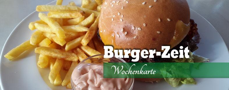 Burger-Zeit im Pozi´s